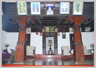 Hall Entrance of Nammane Homestay Chikmagaluru