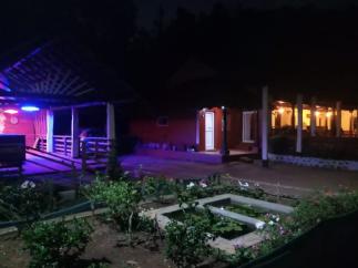 night view - nammane homestay chikmagaluru